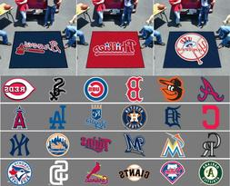 MLB Tailgater Area Rugs 5 Ft x 6 FT All Teams