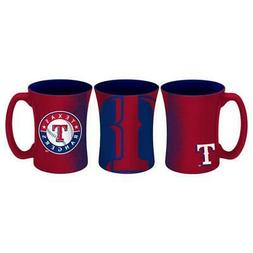 Texas Rangers 14oz Mocha Design Coffee Mug  MLB Tea Cup Glas