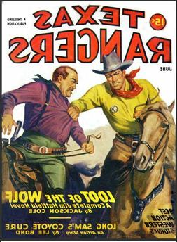 Texas Rangers 15 Issue Pulp Magazine Collection