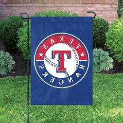 """Texas Rangers 18"""" x 12 1/2"""" Applique and Embroidered Garden"""