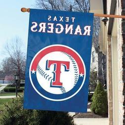 "Texas Rangers 2 Sided 44"" x 28"" Applique & Banner, Flag"