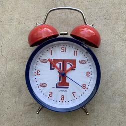 "Texas Rangers 2017 Talking Alarm Clock ""It's Baseball Time I"