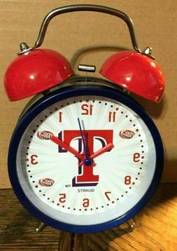 Texas Rangers 2017 Talking Alarm Clock It's Baseball Time In