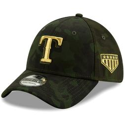 Texas Rangers New Era 2019 Armed Forces Day 39THIRTY Flex Ha