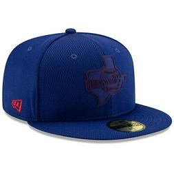 Texas Rangers New Era 2019 Clubhouse Collection 59FIFTY Fitt