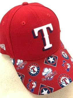 TEXAS RANGERS 2019 MLB NEW ERA 9FORTY LOUDMOUTH ADJUSTABLE S