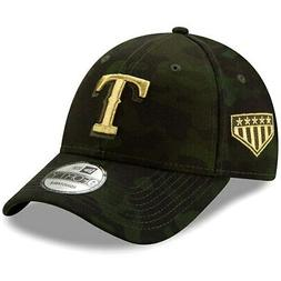 Texas Rangers New Era 2019 MLB Armed Forces Day 9FORTY Adjus