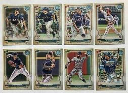 Texas Rangers 2020 Topps Gypsy Queen Base Team Set *8 cards*