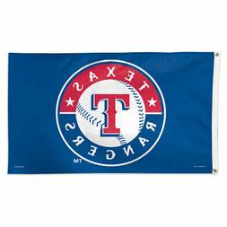TEXAS RANGERS 3'X5' HOUSE FLAG WALL BANNER MLB LICENSED USA