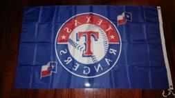 Texas Rangers 3x5 Flag. US seller. Free shipping within the