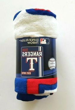"The Northwest Company Texas Rangers 46""x60"" Super Plush Micr"
