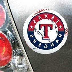 """WinCraft Texas Rangers 5"""" Die-Cut Car Magnet"""