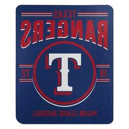 Texas Rangers 50x60 Fleece Southpaw Design Blanket  MLB Thro