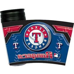 Texas Rangers Acrylic Wrap Tumbler 16 oz. No-Spill Travel Cu