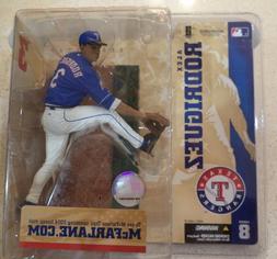Texas Rangers Alex Rodriguez McFarlane Brand New