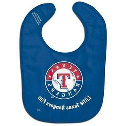 Texas Rangers All-Pro Baby Bib  MLB Infant Newborn Polyester