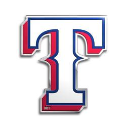Texas Rangers Color Auto Emblem - Die Cut