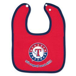 Texas Rangers Baby Bib