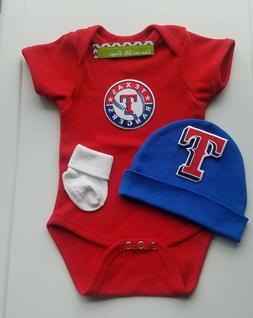 Texas Rangers baby/infant clothes Texas Rangers baby gift Ra