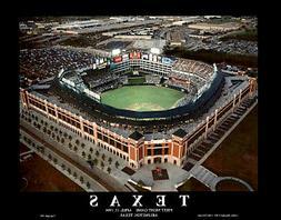 Texas Rangers Ballpark Arlington FIRST NIGHT GAME 1994 Aeria