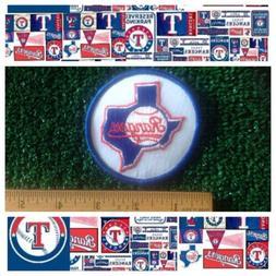 """Texas Rangers MLB Baseball 1984-1993 Retro Throwback Logo 3"""""""