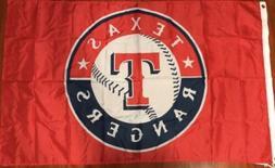 Texas  Rangers Baseball Fan Decor Man Cave  Banner Flag  3X5