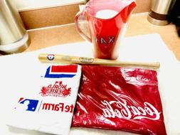 Texas Rangers Baseball Holiday Souvenir 4 pack. Pitcher , Mi