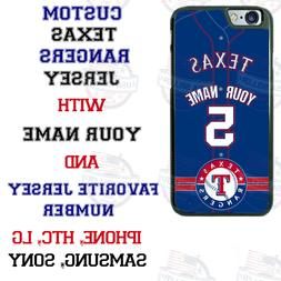 TEXAS RANGERS BASEBALL JERSEY PHONE CASE COVER FOR iPHONE SA