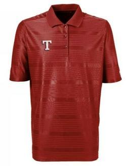 Antigua Texas Rangers Baseball Red Polo Shirt Men's Size X