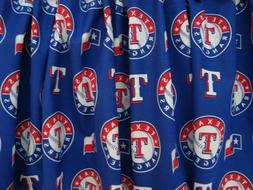 "Texas Rangers Baseball Sports Handmade Valance  56 1/2""  x 1"