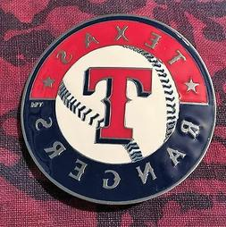 TEXAS RANGERS BELT BUCKLE MLB BUCKLES NEW BASEBALL