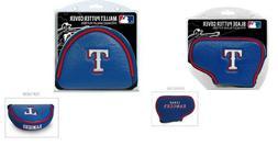 Texas Rangers MLB Blade or Mallet Putter Golf Club Head Cove