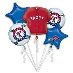 Texas Rangers Bouquet Foil Mylar Balloon by Anagram