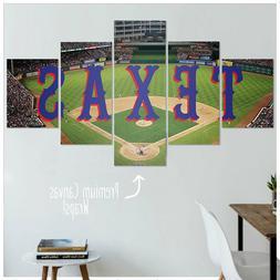 Texas Rangers Canvas Artwork