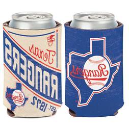 Texas Rangers Cooperstown Can Cooler 12 oz. Koozie