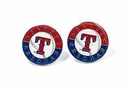Texas Rangers Cufflinks MLB Baseball