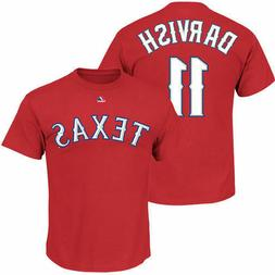Majestic Texas Rangers / Darvish #11 / T Shirt / Men's / New