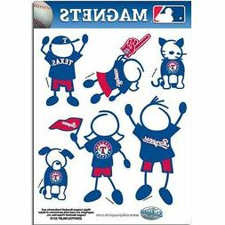 Texas Rangers Family Magnet Set  Auto Car Stickers Emblems 6
