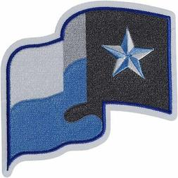 Texas Rangers Fathers Day Blue Sleeve Jersey Patch