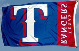 Texas Rangers flag New Banner Indoor Outdoor 3x5 feet US sel