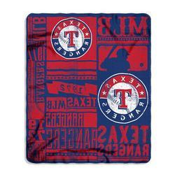 Texas Rangers 50x60 Fleece Blanket - Strength Design