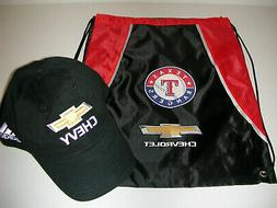 TEXAS RANGERS Game Promo CHEVROLET Backpack + CHEVY Bowtie B