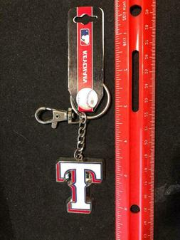Texas Rangers Heavyweight Keychain Team Logo Key Ring - MLB