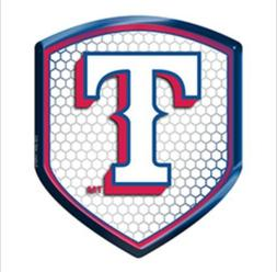Texas Rangers High Intensity Sheild Reflector Emblem Decal B