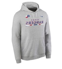 Texas Rangers Hoodie Mens XL Gray Authentic Nike Baseball Pu