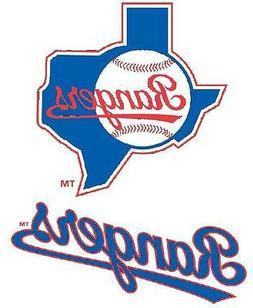 Texas Rangers Iron On T Shirt Pillowcase Fabric Transfer #2