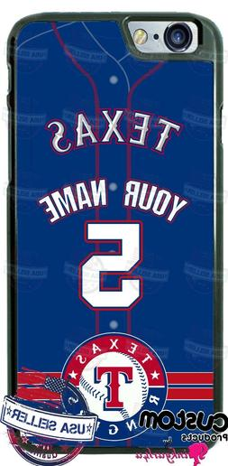 TEXAS RANGERS JERSEY PHONE CASE COVER FITS iPHONE SAMSUNG LG