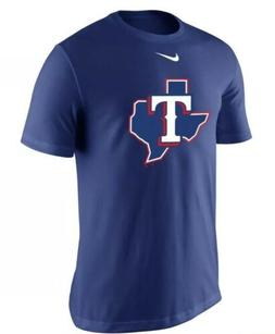 Texas Rangers Nike Legend Batting Practice Performance T-Shi