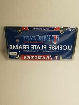 Texas Rangers License Plate Frame