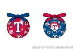Texas Rangers Light-up LED Ball Christmas Tree Ornament - se